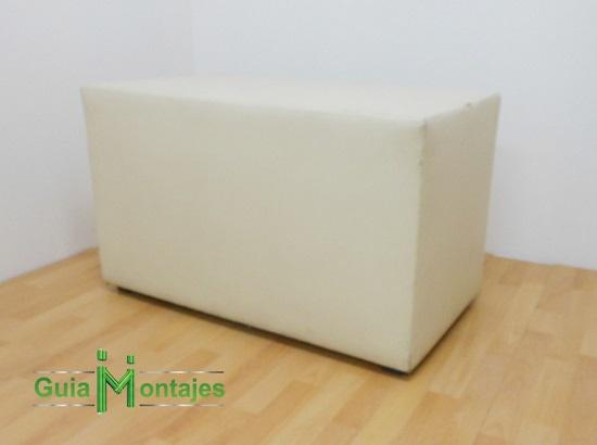 taburete mesa blanco